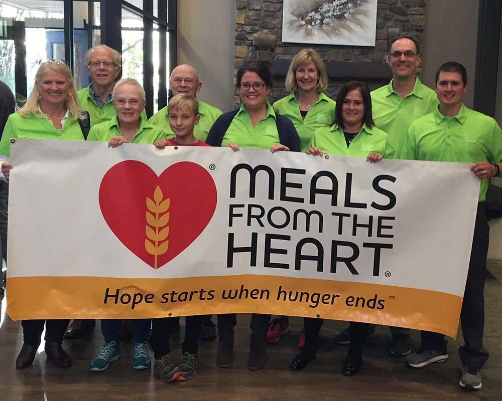 LEAF participated in the October 20th, 2018 MEALS FROM THE HEART meal packing event.